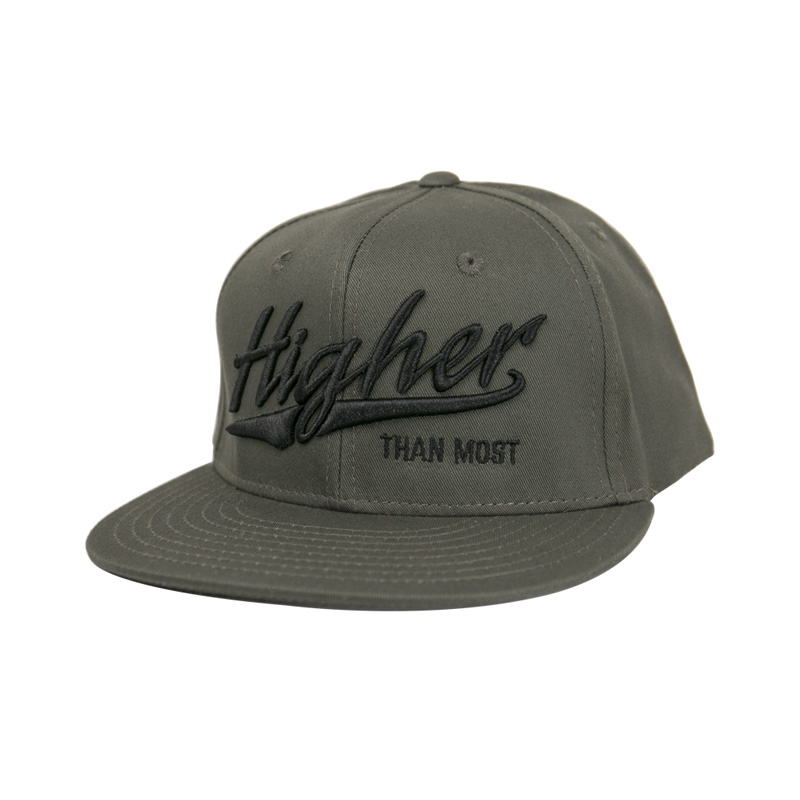 fbec3db606c43 Higher Than Most Snapback Army Green - Higher Apparel